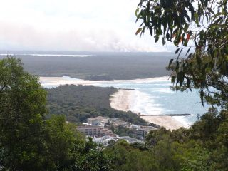 Noosa from the lookout