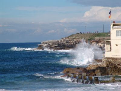 Looking south from Coogee Beach