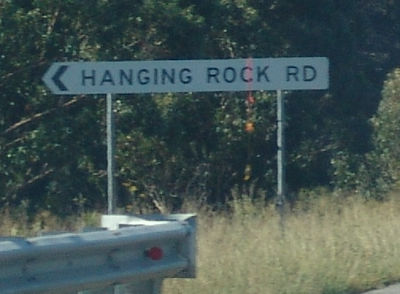 Hanging Rock Road (next time I'll try and get a better one)