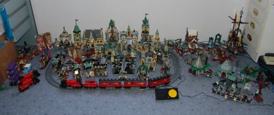 Harry Potter lego collection