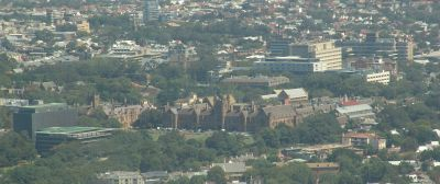 Sydney Uni and RPA and King George V hospitals
