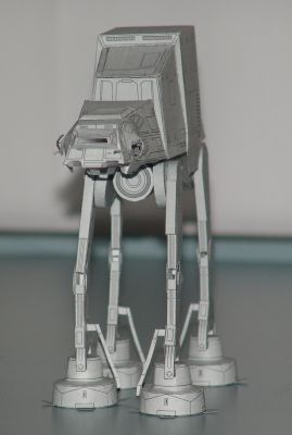 Paper craft AT-AT