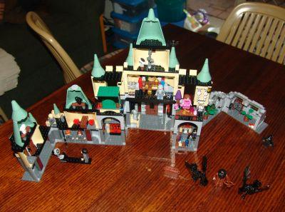 Lego Hogwarts Castle version 3