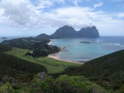 Lord Howe Island from Kim's Lookout