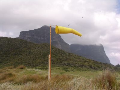 Windsock for the airport