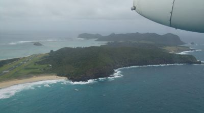Lord Howe Island from the air
