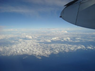 Pretty clouds over the Tasman Sea