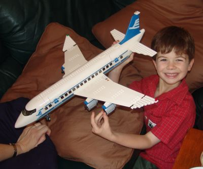 Noah's lego plane