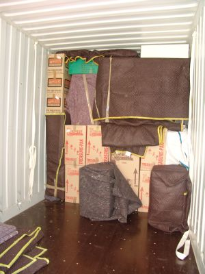 Shipping Container Tetris