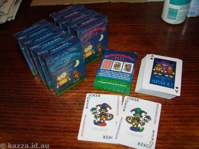 Blogography cards