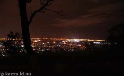 Canberra lights