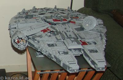 Goodbye Millenium Falcon