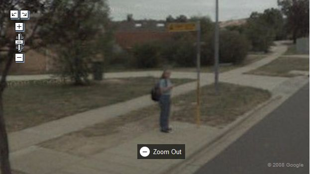 Kazza on Google Maps Street View