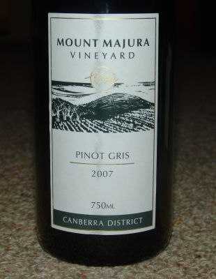 Mount Majura Pinot Gris