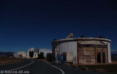 Mt Stromlo by moonlight