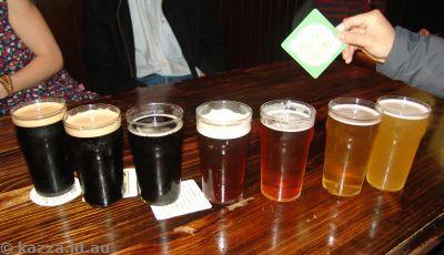 Wig and Pen spectrum of beer