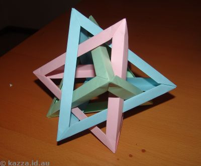 Three tetrahedrons