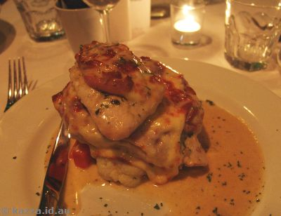Bella Vista Pollo Saltimbocco