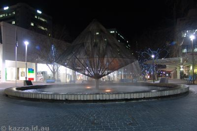 Canberra Times Fountain