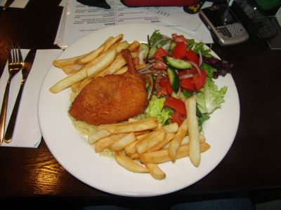 Central Cafe Chicken Kiev