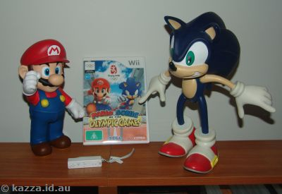 Mario and Sonic at the Olympic Games!