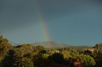Mt Ainslie rainbow
