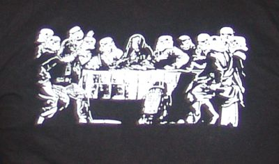 Storm Trooper Last Supper