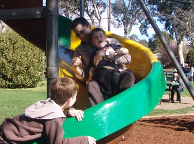 Yass park slide