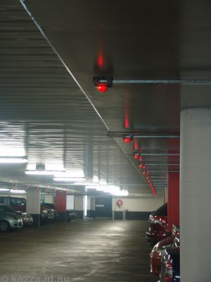 Canberra Centre parking light system