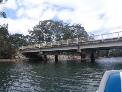 George Bass Drive bridge