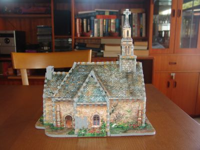 3D church jigsaw