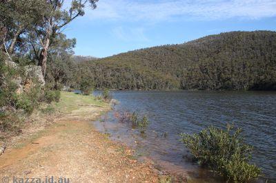 Corin Dam very full