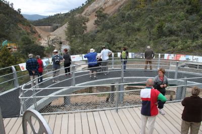 Cotter Dam viewing platform