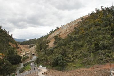 New Cotter Dam in progress