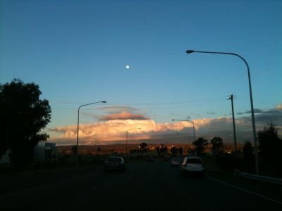 Canberra clouds