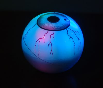 Scary eye ball