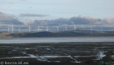 Lake George and turbines