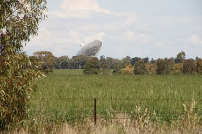 The Dish from a distance