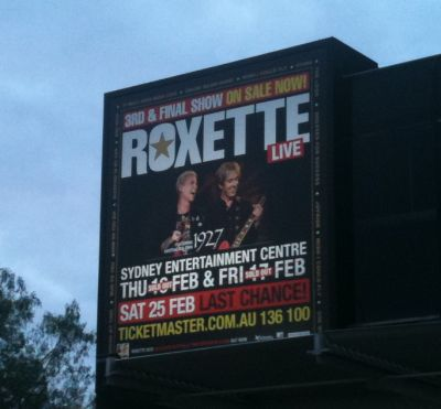 1927 supporting Roxette