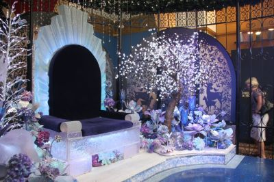Crystal Santa room