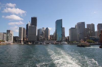 Sydney from the ferry
