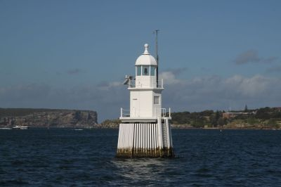 Lighthouse near the heads