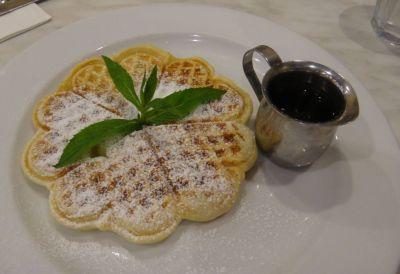 Waffles at Alexander's