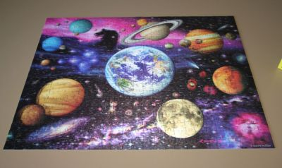 3D Space Jigsaw
