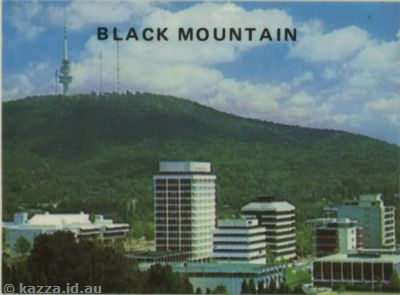 Black Mountain old and new towers