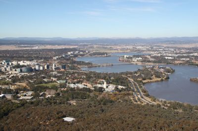Canberra from Black Mountain Tower