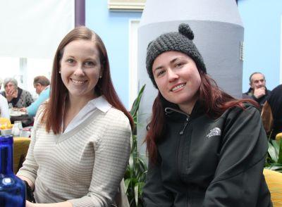Lisa and Fiona