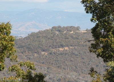 Mount Ainslie from Mount Majura
