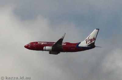 Virgin Blue 737
