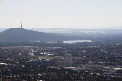 Canberra from Mount Taylor